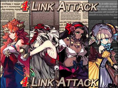 無限のジグラット_「LINK ATTACK」発動