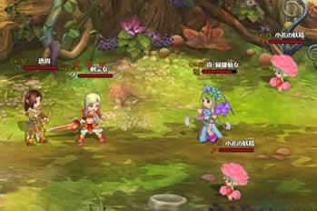 幻想三国志WEB_戦闘シーン