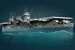 World of Warships(ワールド オブ ウォーシップス)_航空空母艦