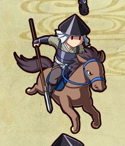 戦道-Crossroad-_騎馬