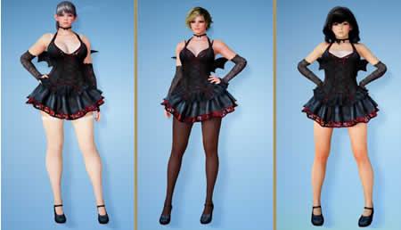 黒い砂漠_ブラッディハロウィン衣装セット