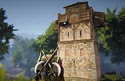 黒い砂漠_材料アイテムを集めて砦を建設しておきましょう