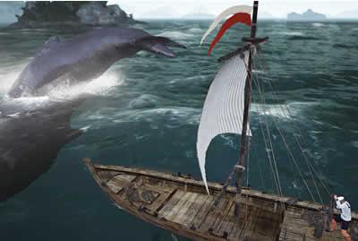 黒い砂漠_巨大生物「クジラ」を追え!「クジラ漁」