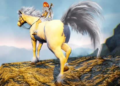 黒い砂漠、新NPC「メイド」、「8世代馬」実装予定!特別アバターを獲得できるイベント開催中