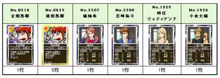 競馬伝説Live!_レインボーかき氷 1枚と交換可能なカード