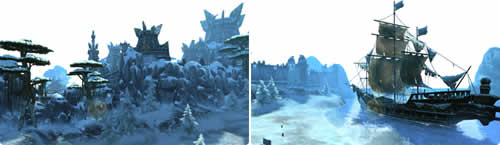 パーフェクト ワールド -完美世界-_新エリア「氷雪の地-月州」