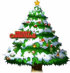 メイプルストーリー_クリスマスツリー