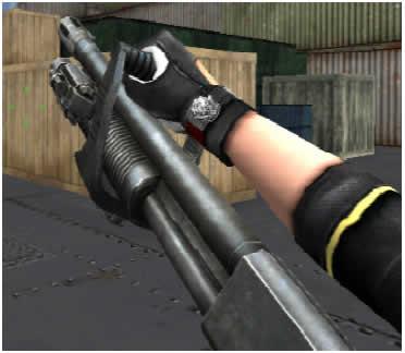 クロスファイア_新武器「500 Chainsaw ガチャ」