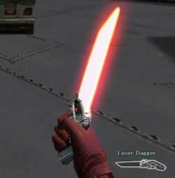 クロスファイア(CROSSFIRE)_近接武器「Laser Dagger」