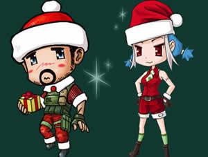 クロスファイア、クリスマス武器登場「2014 X-mas Set ガチャ」販売!「Xmas Bingo!」開催中