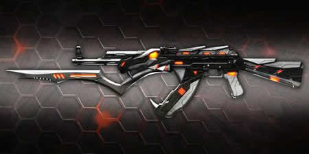 A.V.A(Alliance of Valiant Arms)_AK47 黒蛇