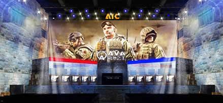 A.V.A(Alliance of Valiant Arms)_国際大会「AVA AIC2014」バナー
