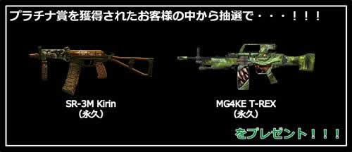 A.V.A(Alliance of Valiant Arms)_メイン武器「MG4KE T-REX」「SR-3M Kirin」