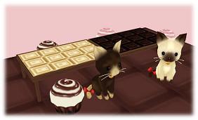 MILU_チョコフラワーを採集しよう!