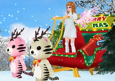 MILU、レアコスチューム「シーズン6」が登場!「2013クリスマスイベント」終了まであとわずか!