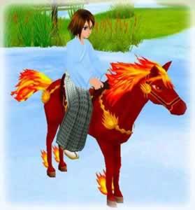 MILU_天の赤馬