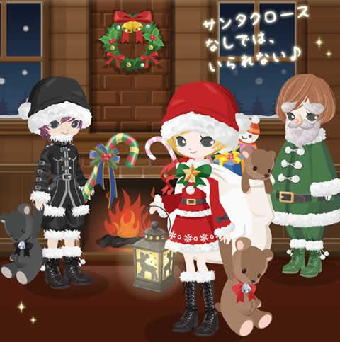 ニコッとタウン_12月限定アイテム第一弾は「クリスマス」がテーマ!可愛いクリスマス衣装に着替えてクリスマス気分を先取り♪