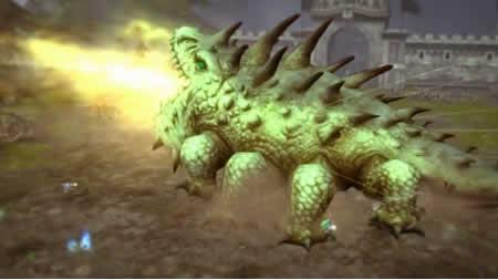 ドラゴンネスト_巨大バジリスク