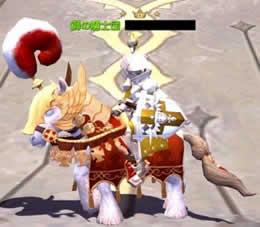 ドラゴンネスト、盟約の軍馬+ギルド勲章+ギルド称号