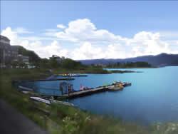 キャラフレ_河口湖