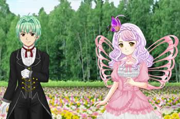 キャラフレ、お花見イベント「フォーチュンフラワー」「花からぼた餅 2014」が開催中!