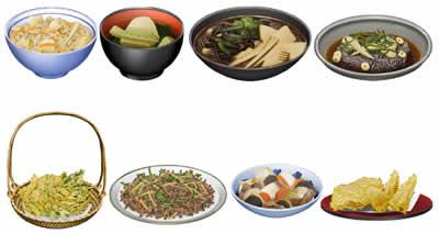 キャラフレ_旬の食材で作ることができるお料理