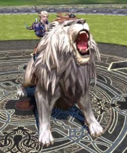 TERA、【スキル書】白獅子召喚