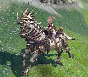 TERA、白銀戦馬