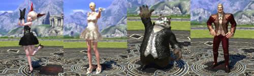 TERA_ドレス、スーツアバター画像