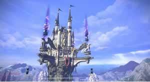 TERA_天空の城