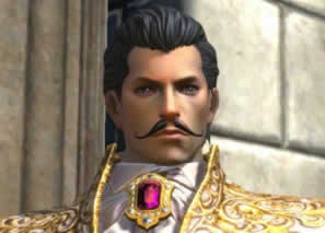 TERA、紳士の付け髭