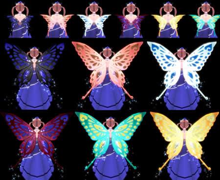 マビノギ_春告げの箱蝶の翅