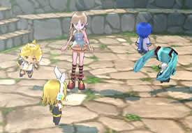 マビノギ_世界の歌姫が登場!人気ボーカロイドキャラクター「初音ミク」とのタイアップを開催中!