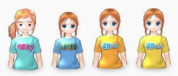 マビノギ_ルーレットイベント開催中!タイアップ限定アイテムを獲得しよう!「ボーカロイドTシャツ」