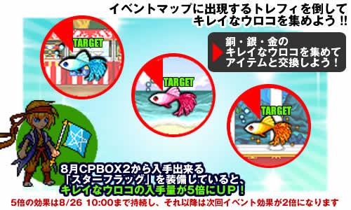チビクエスト_イベント特効装備「スターフラッグ」登場