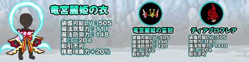 チビクエスト_盛夏の試練中級「乙姫」