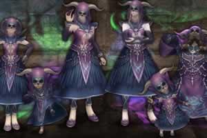 Wizardry Online、「昏き揺らぎの地」に「ストーリーモード」追加!「禁欲の魔装」セット登場!