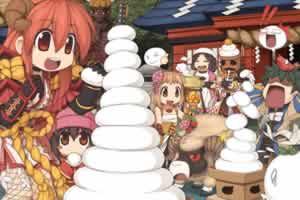 ラグナロクオンライン、大晦日・お正月続けて遊べるイベント「アマツ招福モチモチ祭り」開催!