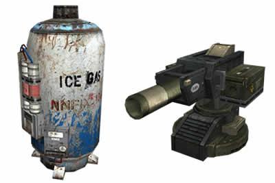 カウンターストライクオンライン(CSO)_液体窒素タンク、迫撃砲塔