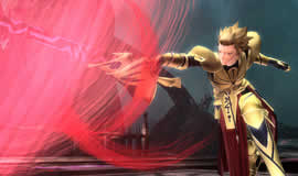 PSO2_コラボアイテムギルガメッシュ「英雄王の甲冑」「*乖離剣エア」