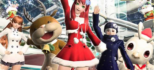 PSO2_新ACスクラッチ「ベリー・メリー・クリスマス」登場