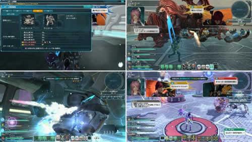 ファンタシースターオンライン2(PSO2)_エクストリームクエスト「極限訓練:凍土と機甲」ステージ61〜70スクリーンショット