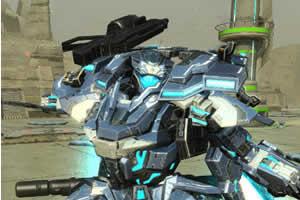 「ファンタシースターオンライン2」_「採掘基地防衛戦」第三弾!「採掘基地防衛戦:絶望」人型迎撃兵器「A.I.S」が登場