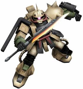 機動戦士ガンダムオンライン_ザク・デザートタイプ(強襲)
