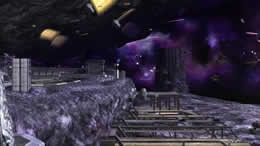 ガンダムオンライン、決戦の舞台となるア・バオア・クー周辺の宇宙空間