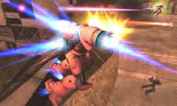 機動戦士ガンダムオンライン_ガーベラ・テトラにシュツルム・ブースターを装備するとさらに機動力があがる