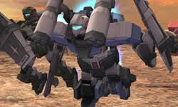 機動戦士ガンダムオンライン_バックパックにあるハードポイントの武装を変えて遠近両面戦えるジーライン(スタンダードアーマー)