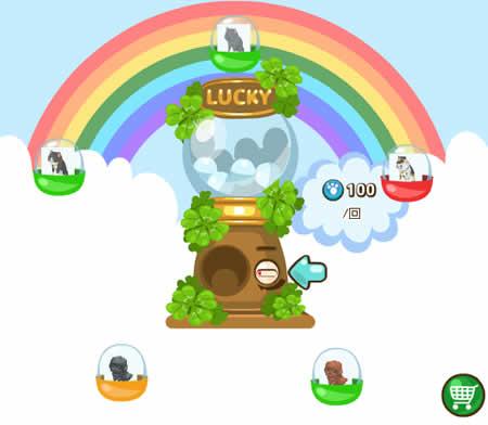 虹色どうぶつ園_ラッキーガチャに可愛い犬や猫が必ず当たる期間限定「ペットガチャ」が登場!