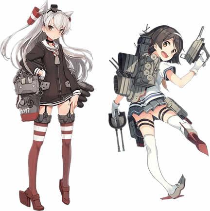 艦隊これくしょん〜艦これ〜_駆逐艦「天津風」、「谷風」
