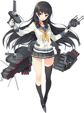 艦隊これくしょん〜艦これ〜_陽炎型駆逐艦「磯風」通常グラフィック